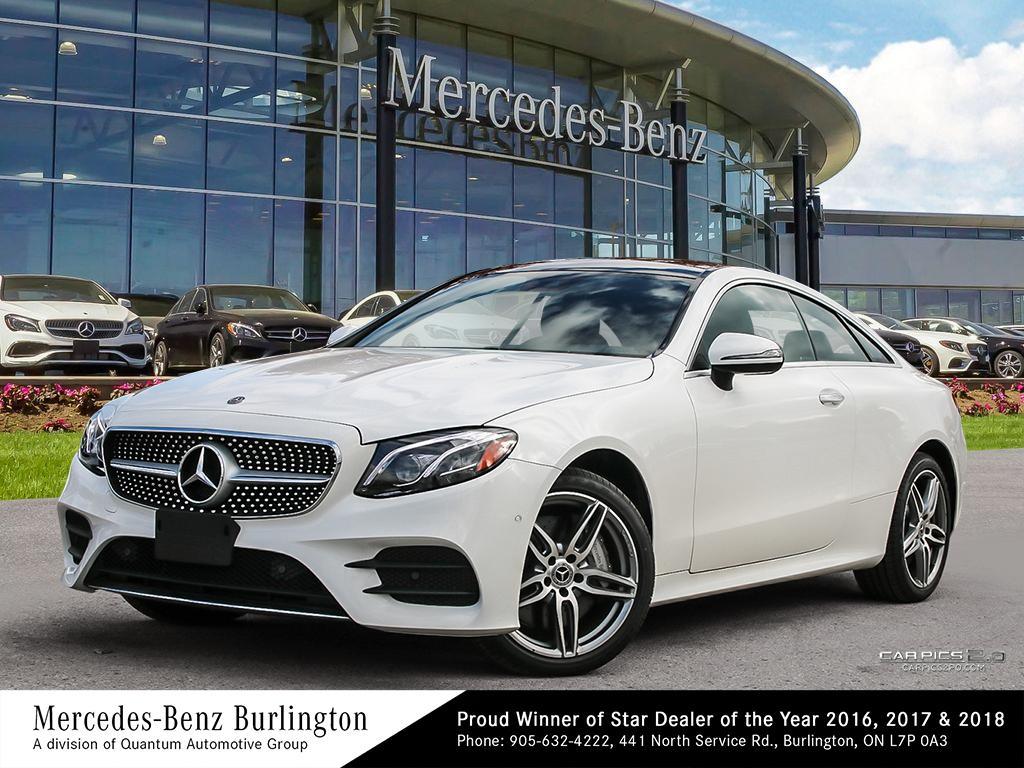 New 2018 Mercedes-Benz E400 4MATIC Coupe