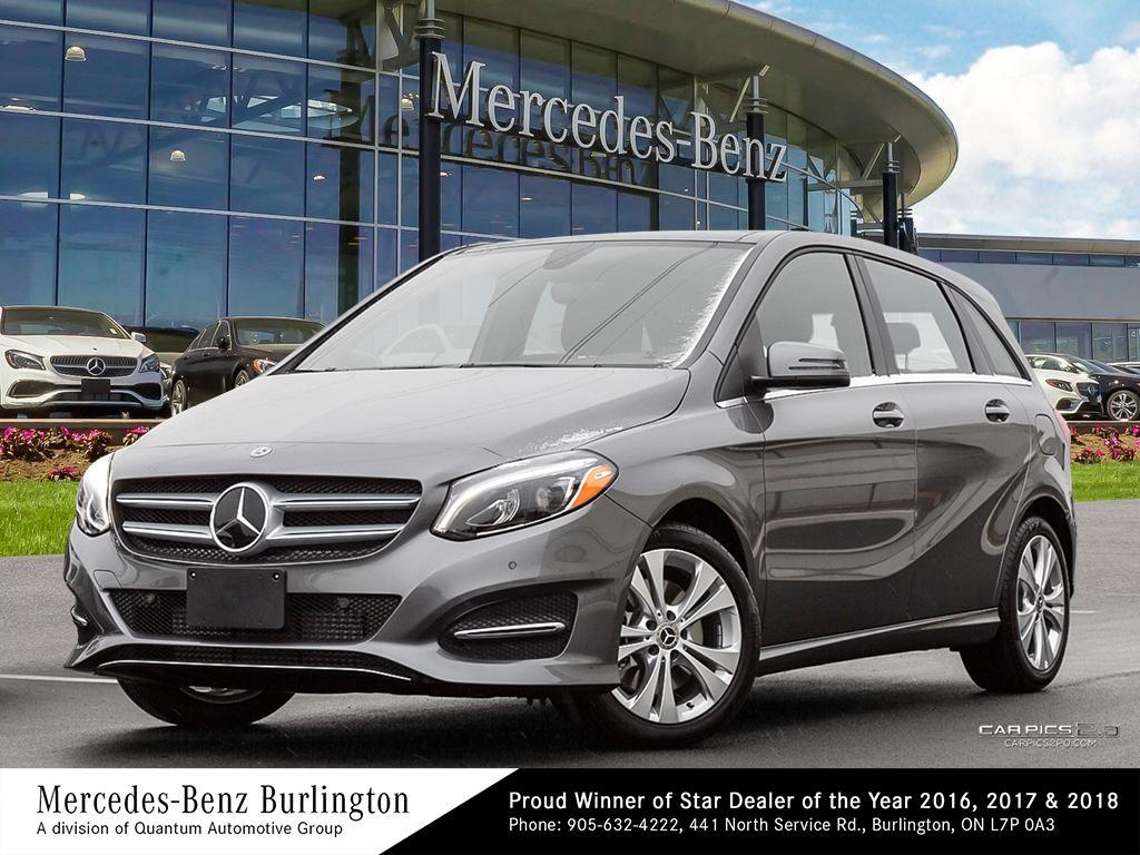 New 2019 Mercedes-Benz B250 4MATIC Sports Tourer