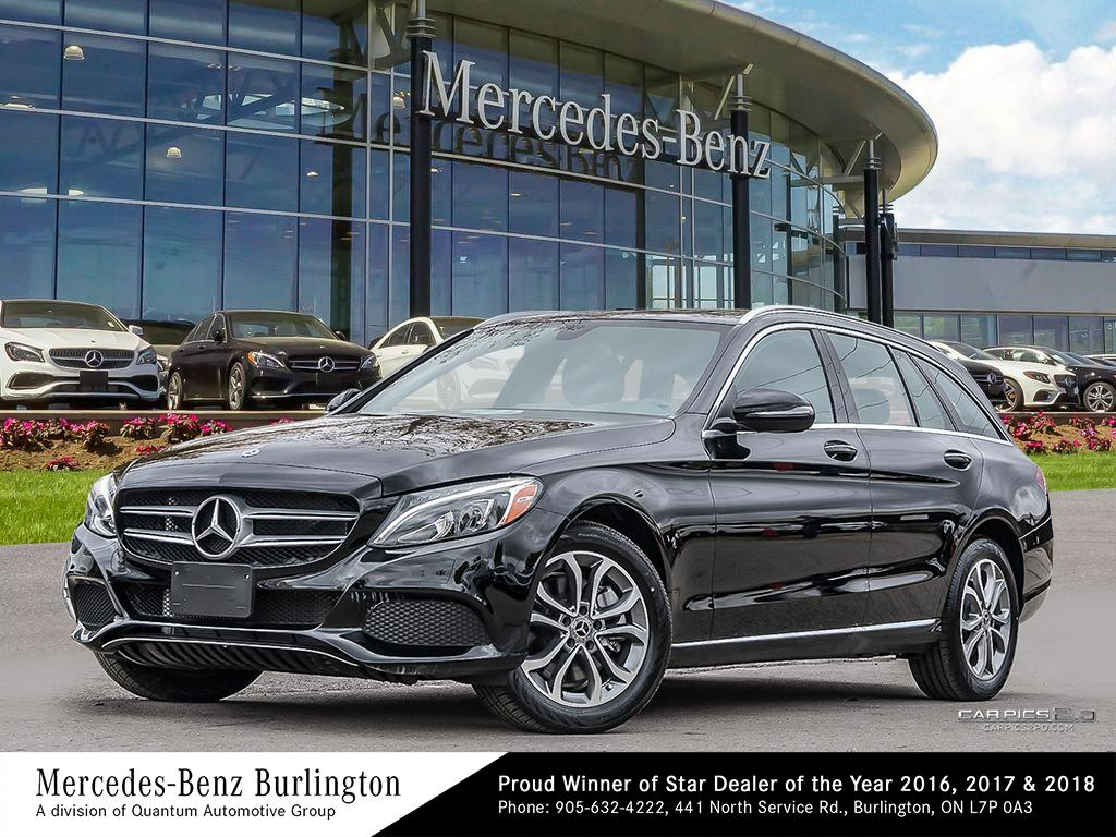New 2018 Mercedes-Benz C300 4MATIC Wagon
