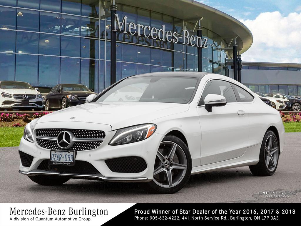 New 2018 Mercedes-Benz C300 4MATIC Coupe