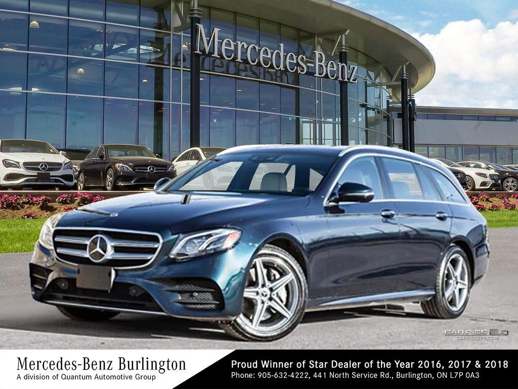 New 2018 Mercedes-Benz E400 4MATIC Wagon