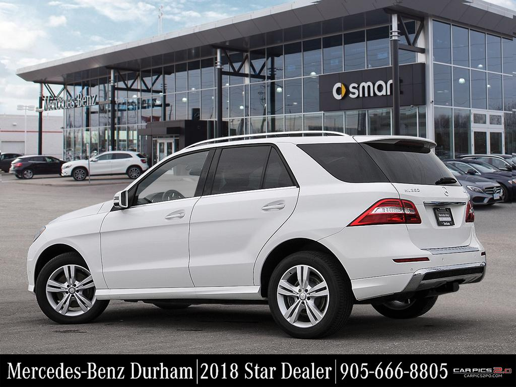 Certified Pre Owned 2015 Mercedes Benz Ml Class Ml350 Suv In Whitby