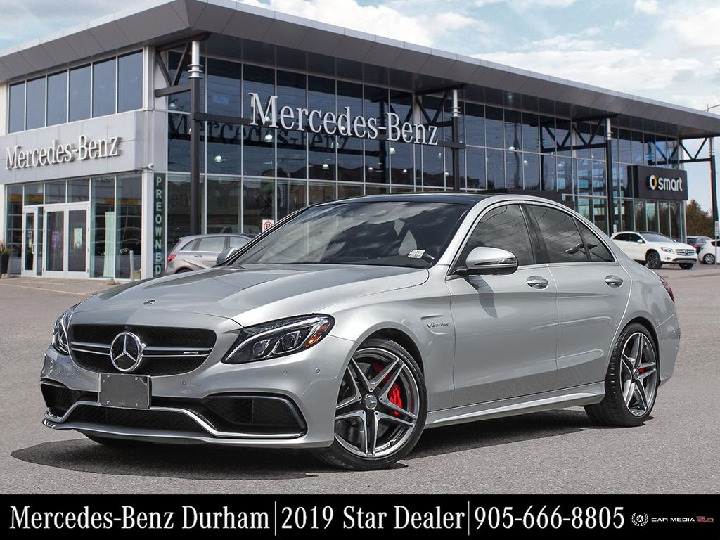 New 2018 Mercedes-Benz C63 S AMG Sedan