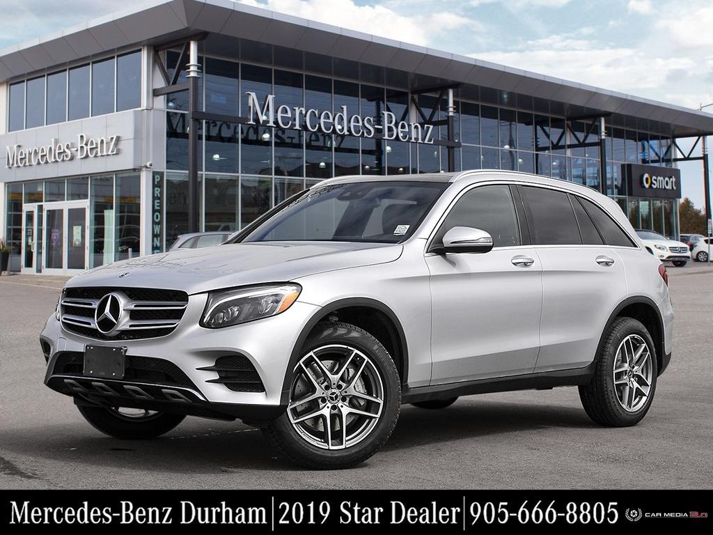 New 2019 Mercedes-Benz GLC300 4MATIC SUV