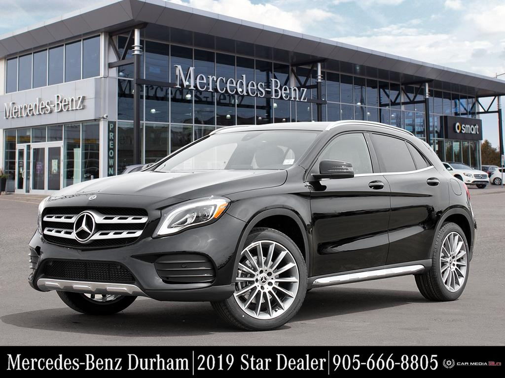 New 2019 Mercedes-Benz GLA250 4MATIC SUV
