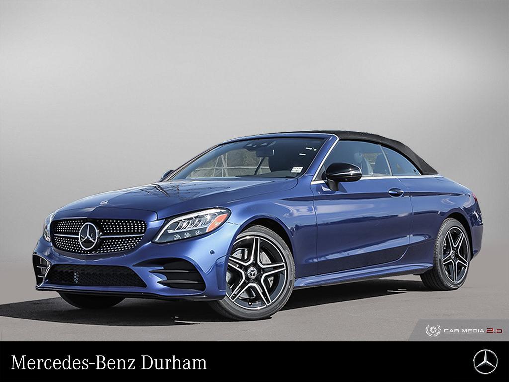 New 2020 Mercedes-Benz C300 4MATIC Cabriolet