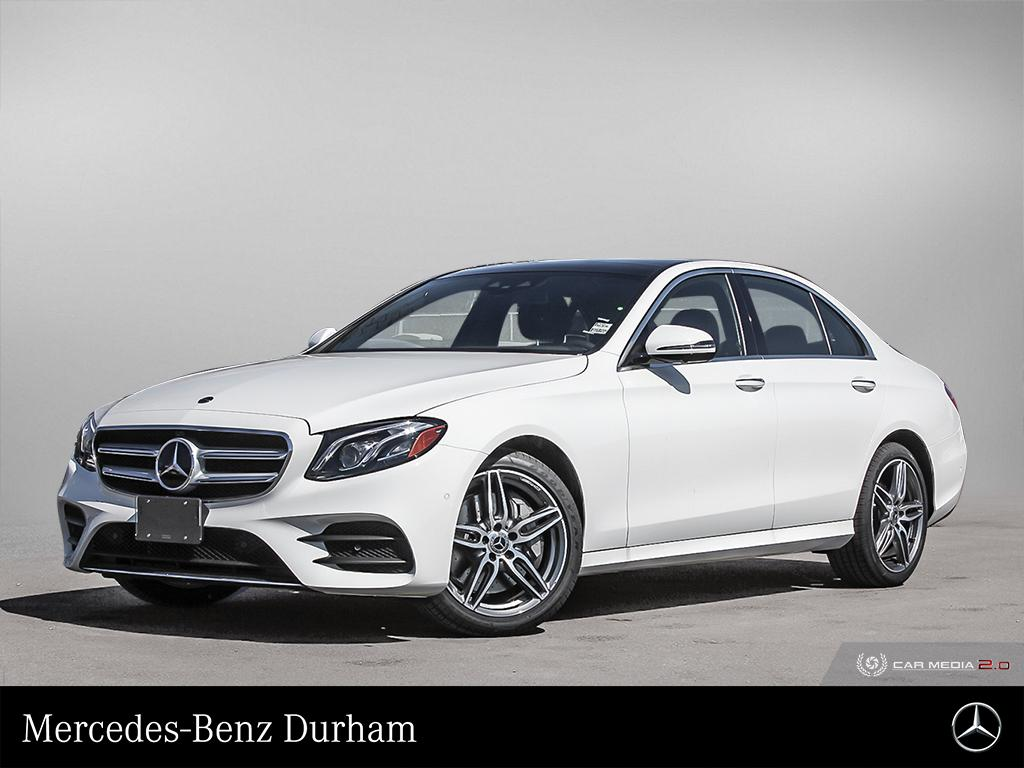 New 2020 Mercedes-Benz E350 4MATIC Sedan