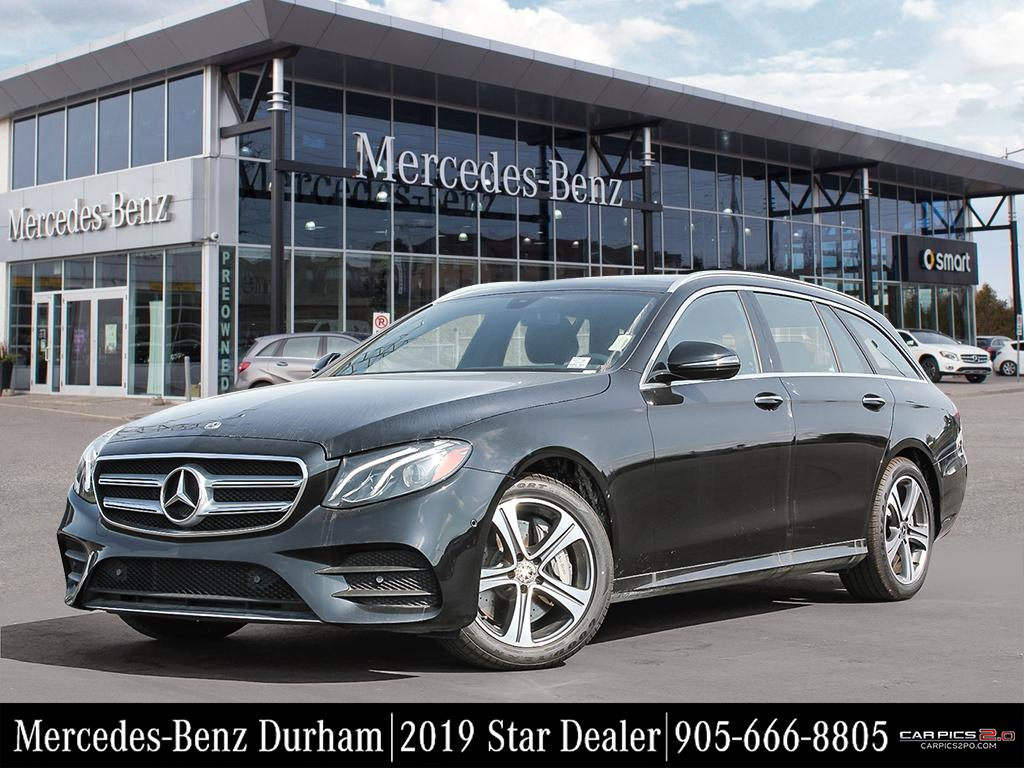 New 2019 Mercedes-Benz E450 4MATIC Wagon