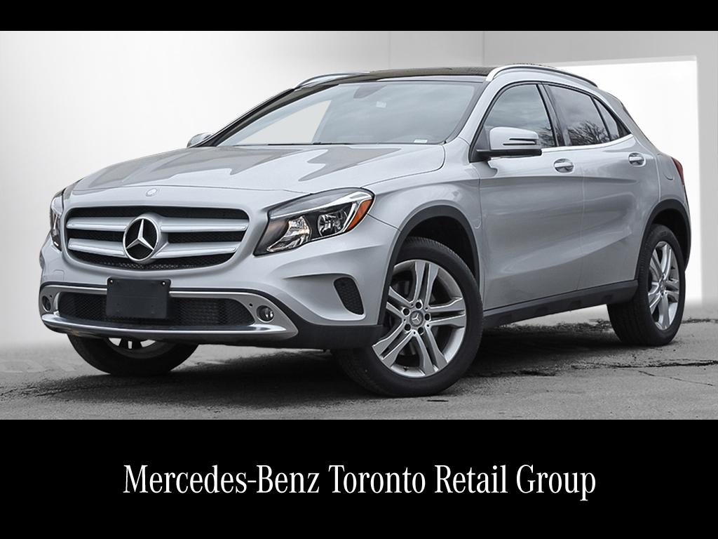 Certified pre owned 2016 mercedes benz gla gla250 suv for Used mercedes benz toronto