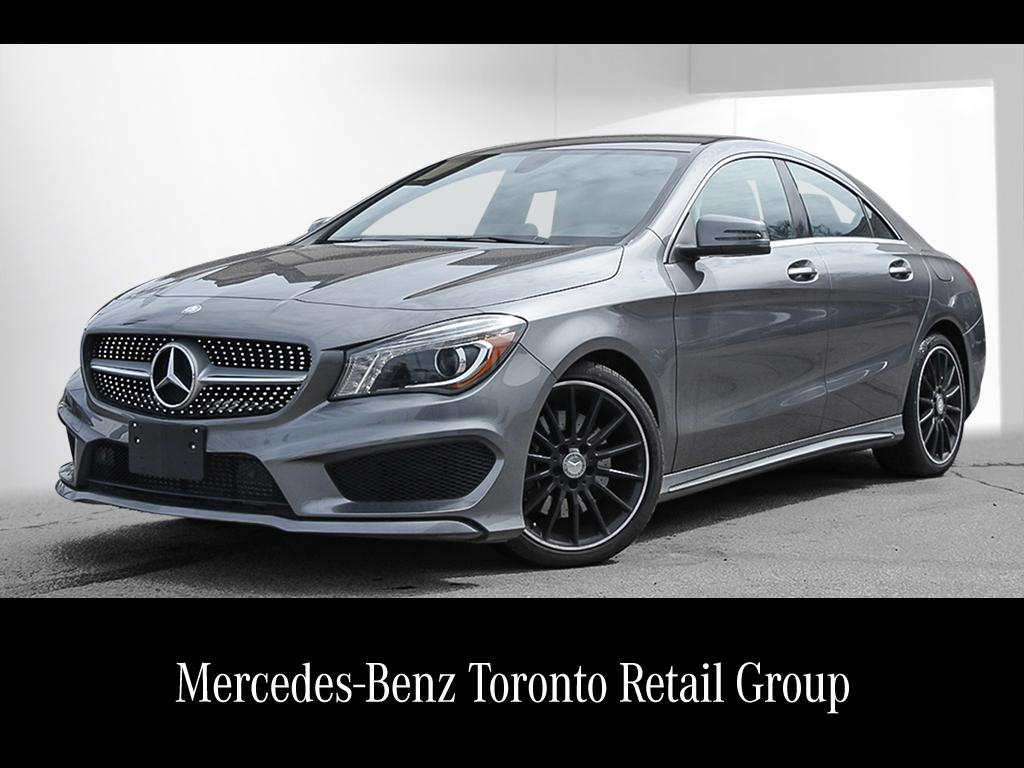 New 2018 mercedes benz cla cla250 coupe 18760861 for Used mercedes benz toronto