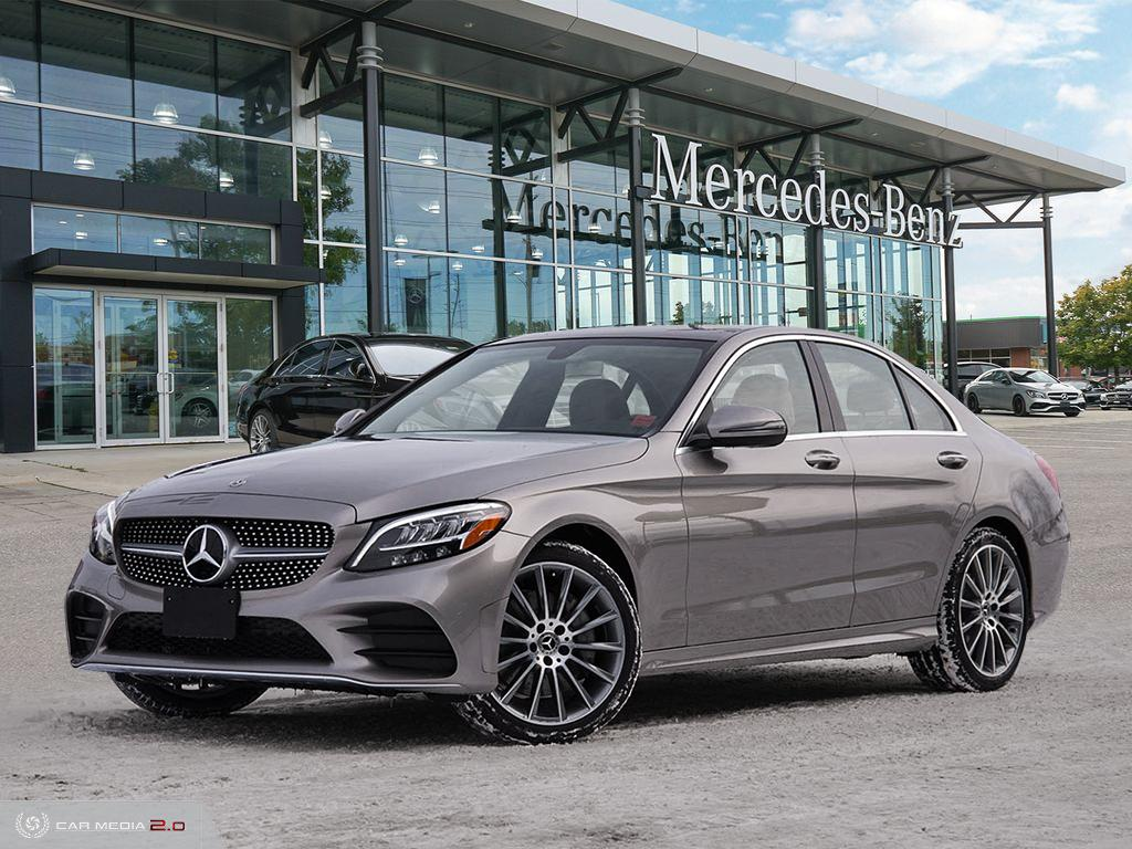 New 2020 Mercedes-Benz C-Class 4MATIC Sedan