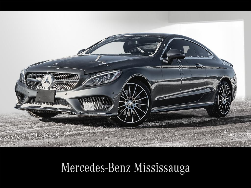 certified pre-owned 2017 mercedes-benz c-class c300 2-door coupe