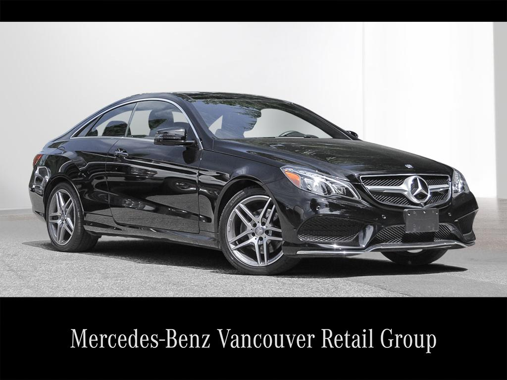 Certified pre owned 2017 mercedes benz e class e400 coupe for Mercedes benz north vancouver