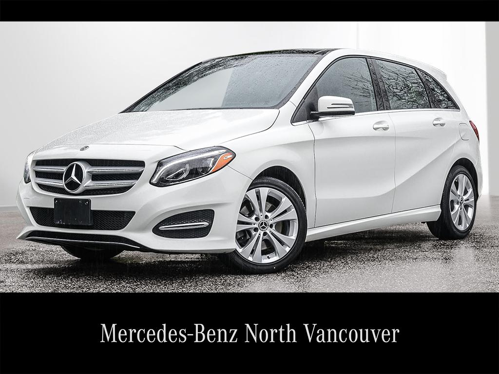 Pre owned 2018 mercedes benz b class b250 sports tourer in for Mercedes benz north vancouver