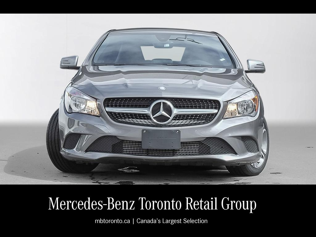 Certified pre owned 2016 mercedes benz cla cla250 coupe for Used mercedes benz toronto