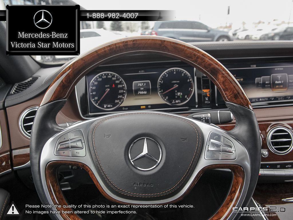Certified Pre Owned 2014 Mercedes Benz S Class S550 4 Door